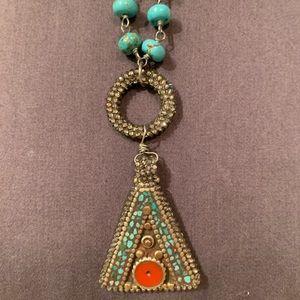 Roni Blanshay Turquoise necklace
